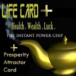 2 Life Cards + 1 Bonus Prosperity Attractor Card